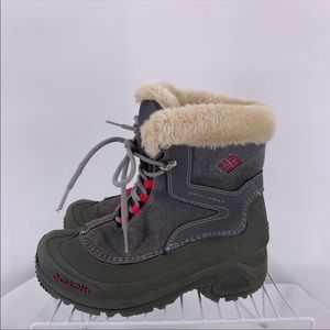 Columbia Girls Boots Size 3